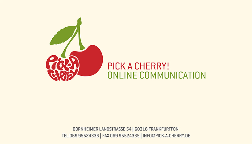 PICK-A-CHERRY - Online Communication